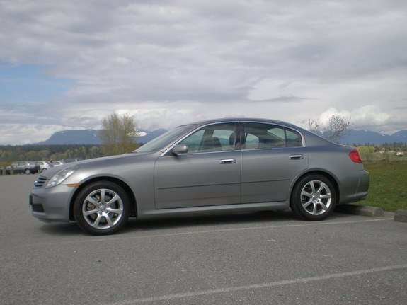 tonygee 39 s 2005 infiniti g in richmond bc. Black Bedroom Furniture Sets. Home Design Ideas