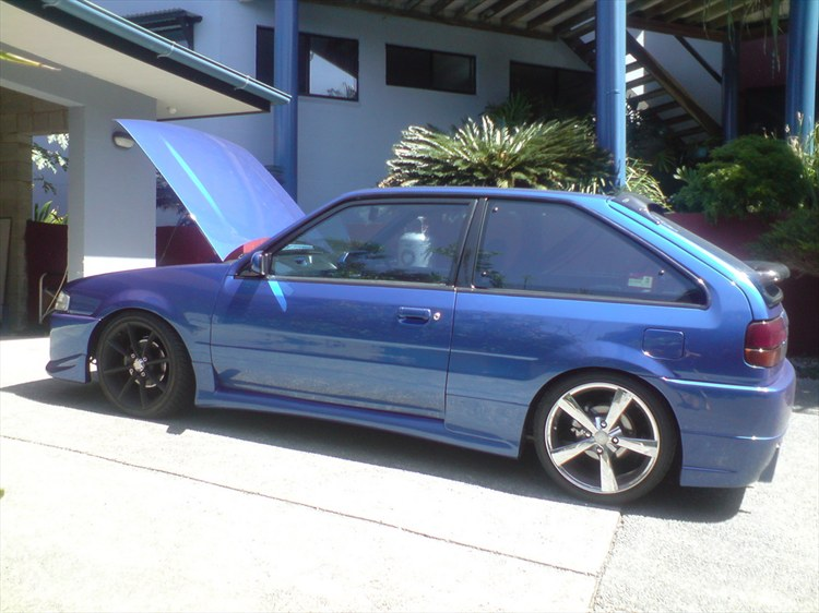 Barnz  1988 Ford Laser Specs  Photos  Modification Info At Cardomain
