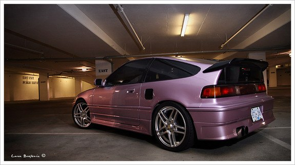 Another Mauveyrex 1991 Honda CRX post... - 9271317