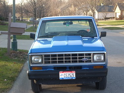 1986 Ford Ranger-Regular-Cab