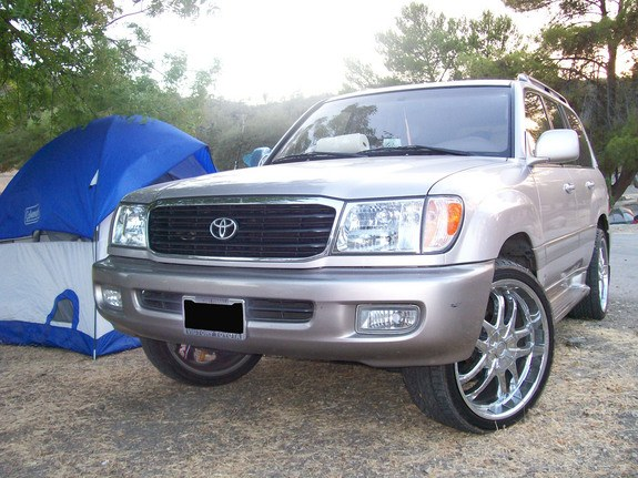 el chupy 2000 toyota land cruiser specs photos modification info at cardomain cardomain