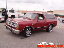 Ramchargin 1989 Dodge Ramcharger