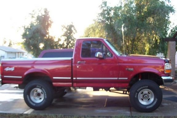Large on 1994 Ford F 150