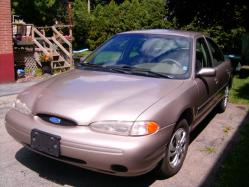 Blue_Fours 1996 Ford Contour