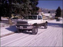 gumper 1995 Dodge Ram 2500 Club Cab