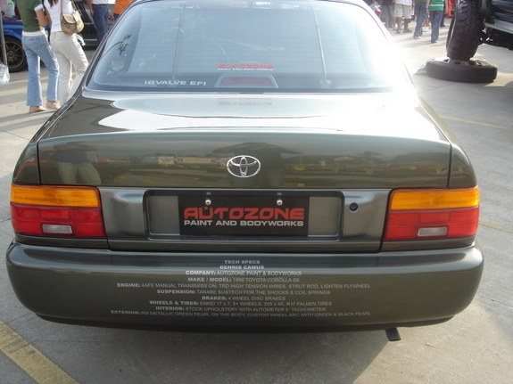 Another eurocorolla 1996 Toyota Corolla post... - 10475111