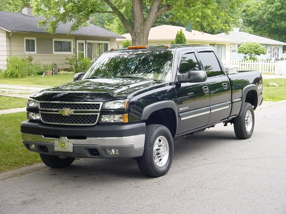 2005chevytoad 2005 chevrolet silverado 2500 hd crew cab specs photos modification info at. Black Bedroom Furniture Sets. Home Design Ideas
