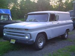 GMC6066 1966 Chevrolet Panel Van