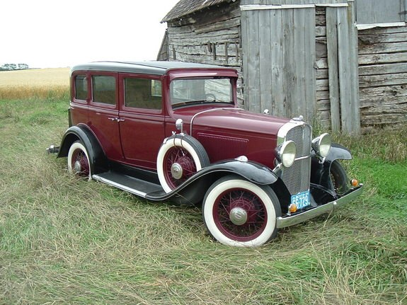 LN7_NUT's 1931 Pontiac Chieftain