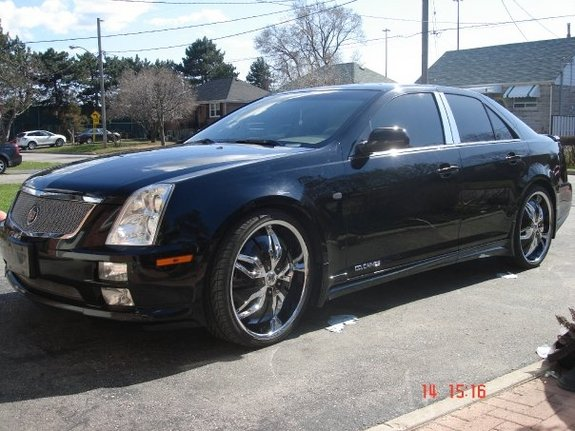 cocaines 2005 Cadillac STS 10632713