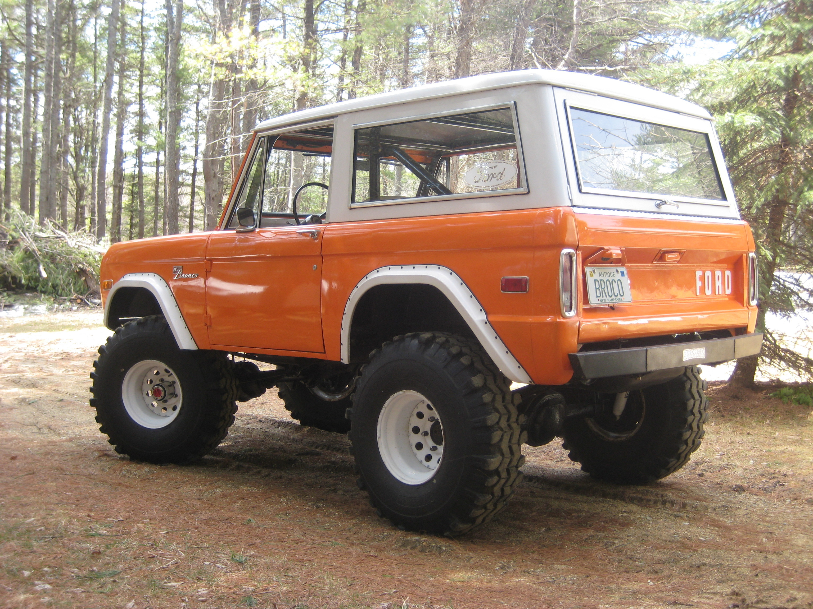 Ford Bronco Tires >> 71Broco302HO 1971 Ford Bronco Specs, Photos, Modification Info at CarDomain