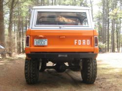 71Broco302HO 1971 Ford Bronco