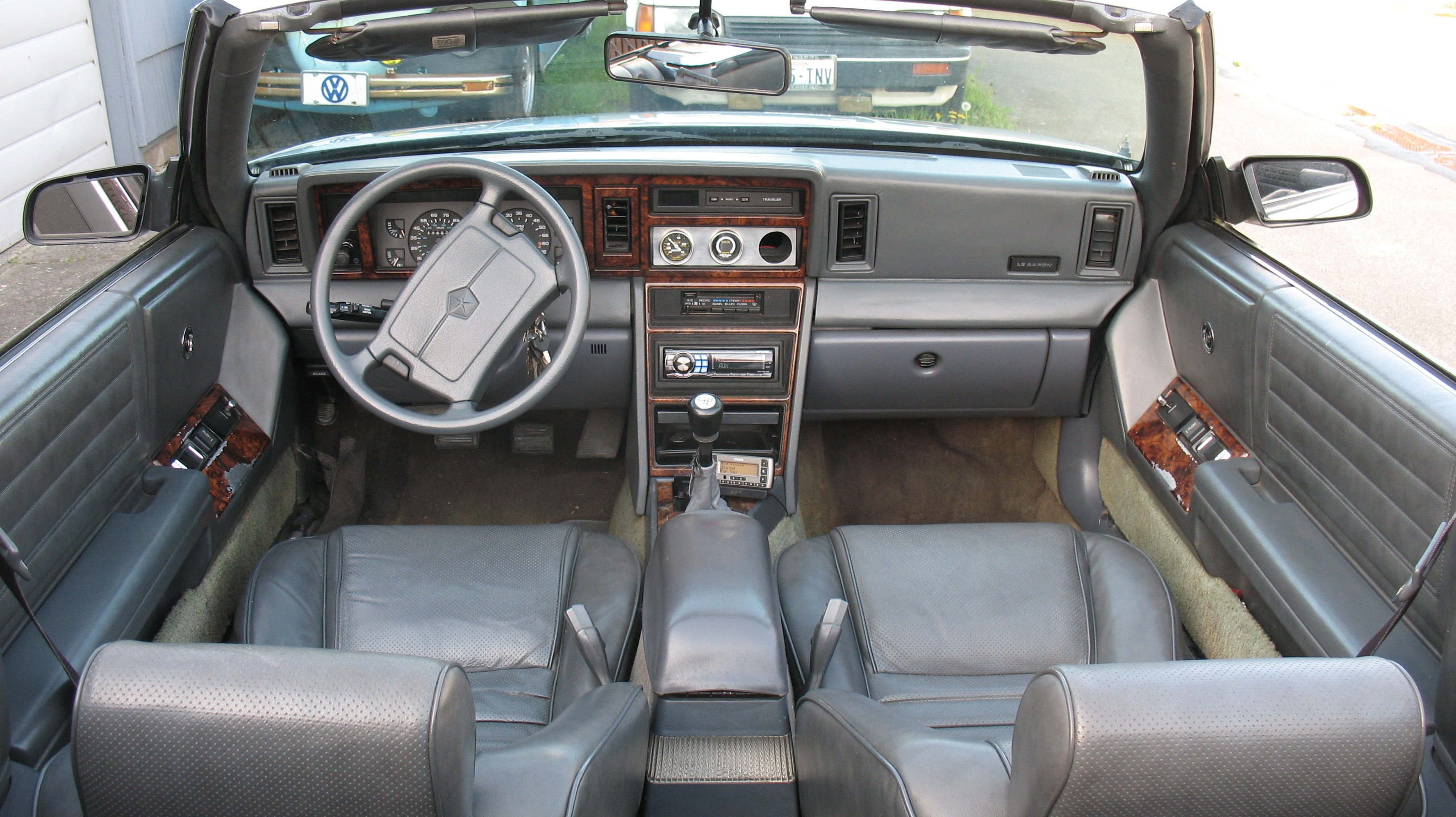1989 Chrysler Lebaron Manual Kompresor Kia New Rio 2006 Hcc Ori 1990 Interior Array Moparvdubguy Specs Photos Modification Info Rh Cardomain Com