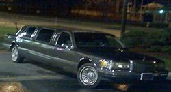 STRECHED 1990 Lincoln Town Car