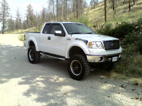 2006 extended cab white lariat ford f150 lifted autos post. Black Bedroom Furniture Sets. Home Design Ideas