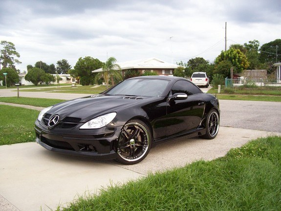 2005 mercedes slk 350 body kit. Black Bedroom Furniture Sets. Home Design Ideas