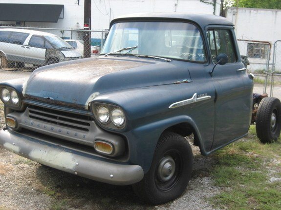 Another 59BuickInvicta 1958 Chevrolet 3100 post... - 10502301