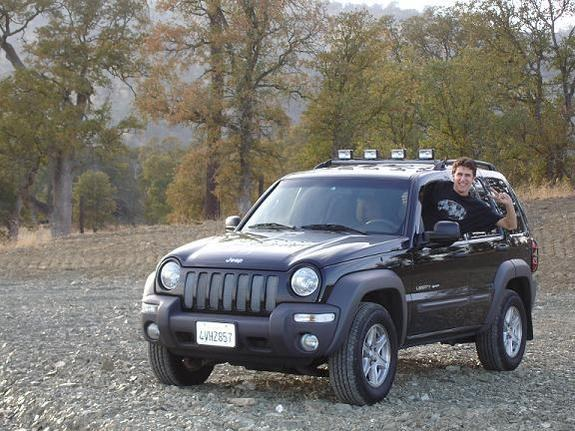 Liberty Light Bar Mod: Stampey 2002 Jeep Liberty Specs, Photos, Modification Info