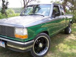 Badass67F100s 1991 Ford Ranger Regular Cab