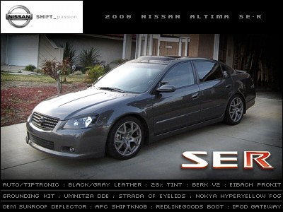 Joedosa 2006 Nissan Altima Specs Photos Modification Info At Cardomain