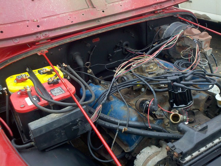 Yj Fuse Box Removal : Jeep cj engine compartment free image for
