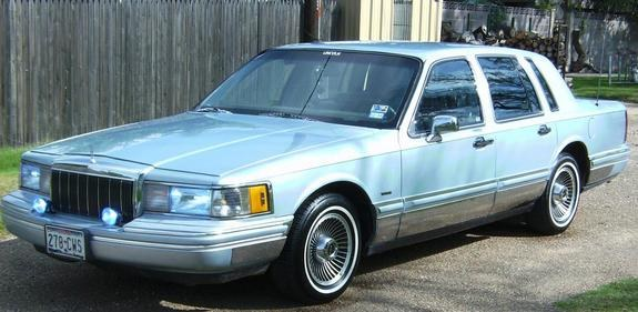 1992 lincoln town car blue 200 interior and exterior images. Black Bedroom Furniture Sets. Home Design Ideas