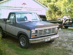 peercy 1987 Ford F150 Regular Cab