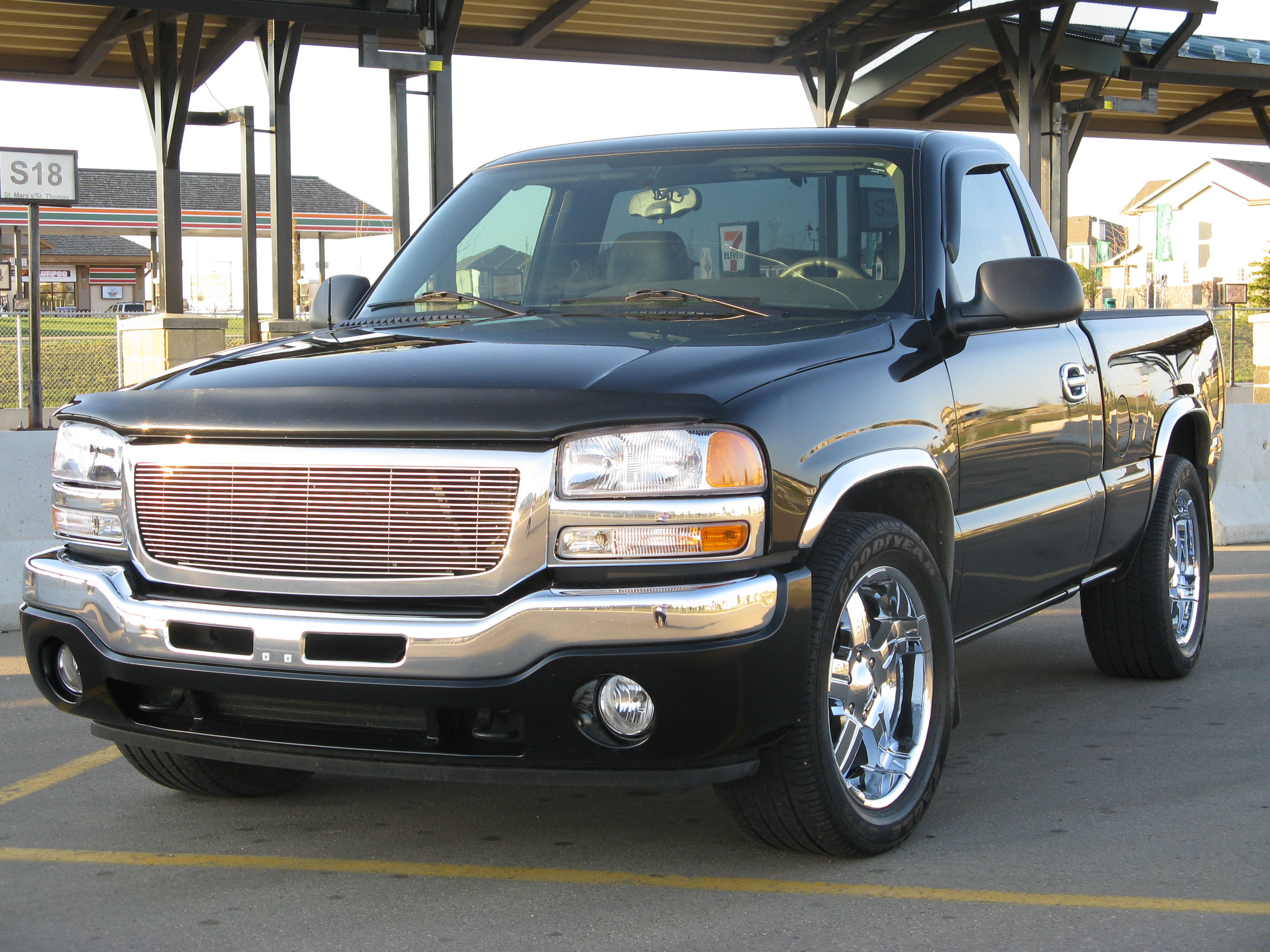 brettmajeski 2006 gmc sierra 1500 regular cab specs. Black Bedroom Furniture Sets. Home Design Ideas