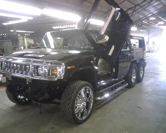 Another islamist1188 2006 Hummer H2 post... - 10546498