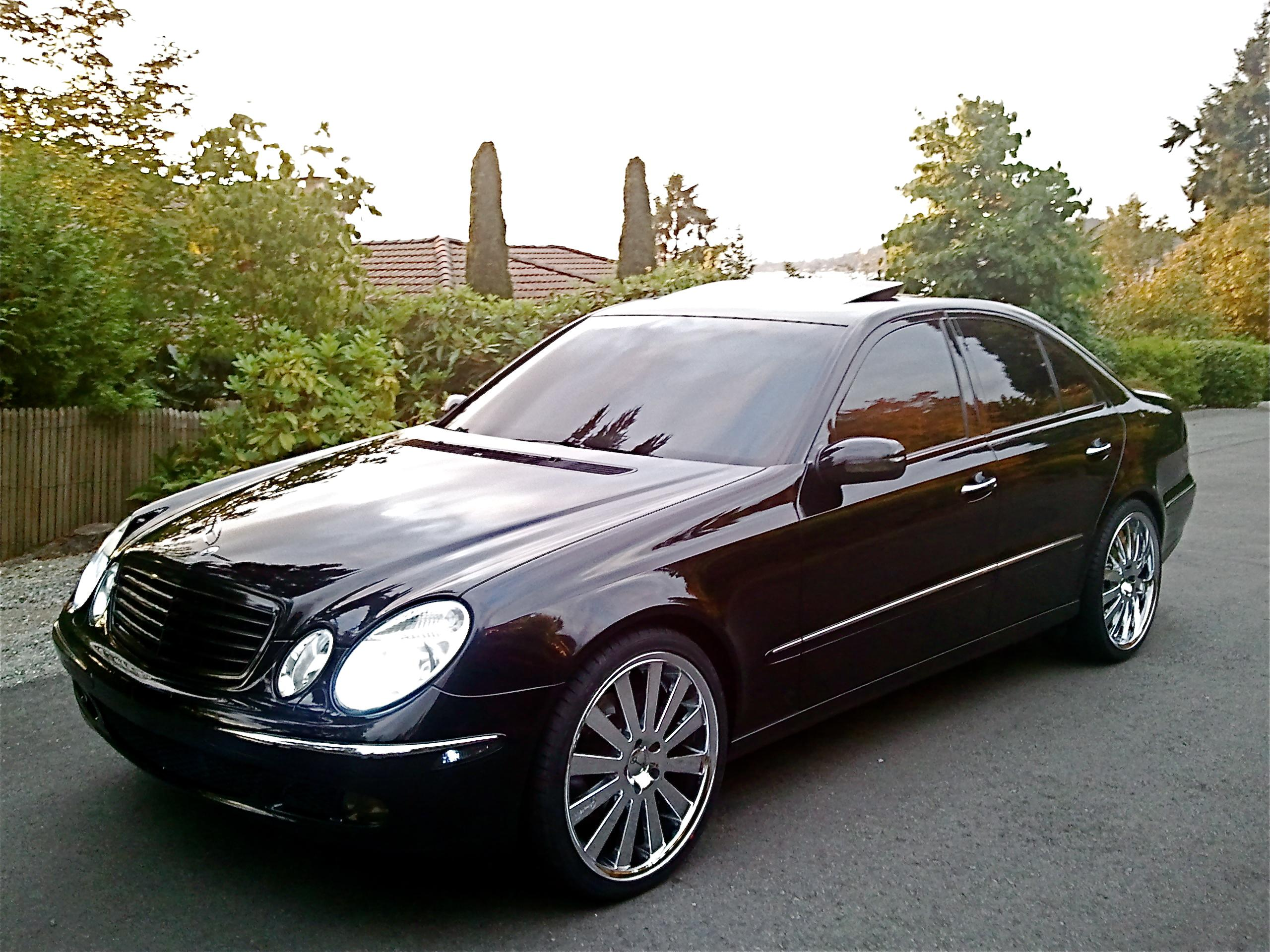 Image gallery 2003 mercedes 500e for Mercedes benz e class 2003 price
