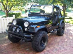 Black_1982_CJ-7 1982 Jeep CJ7