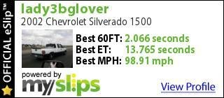Another Lady3bglover 2002 Chevrolet Silverado 1500 Regular Cab post... - 9314181