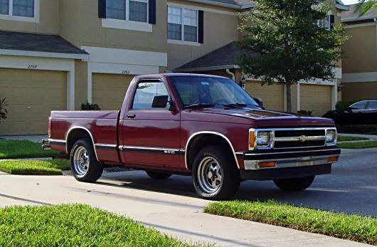 Aque509 1991 Chevrolet S10 Regular Cab 10571808