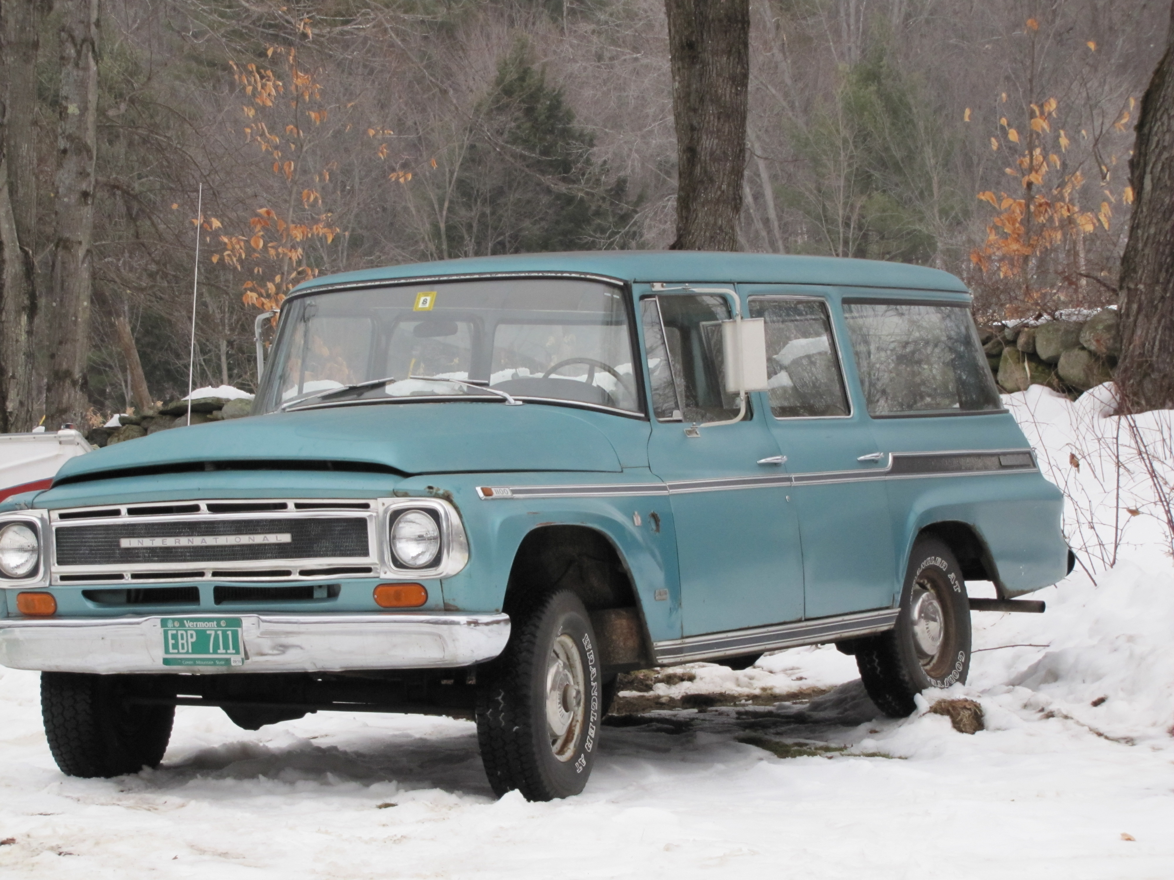 themutt101's 1968 International Travelall