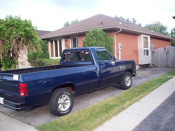 Another dirtyblued150 1988 Dodge D150 Club Cab post... - 13827452