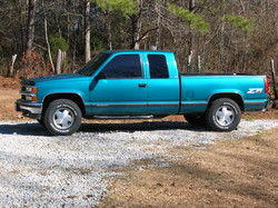 rsswgas 1995 Chevrolet Silverado 1500 Extended Cab