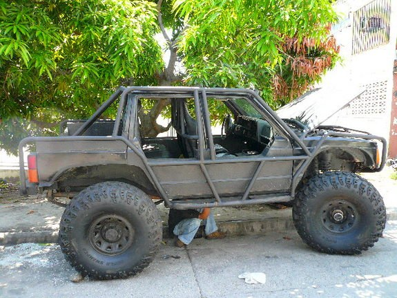 Abelsa 1995 jeep cherokee specs photos modification info - Jeep cherokee exterior roll cage ...