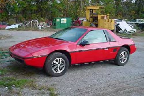 Another ruler 1985 Pontiac Fiero post... - 10595012