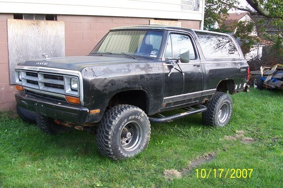 Another mfnzerro 1985 Dodge Ramcharger post... - 10601685