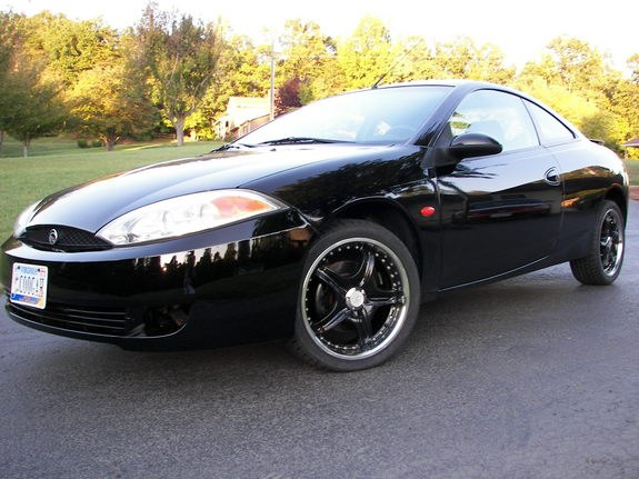 ford cougar black 2001