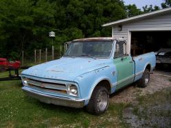 1967ChevyTruck 1967 Chevrolet C/K Pick-Up