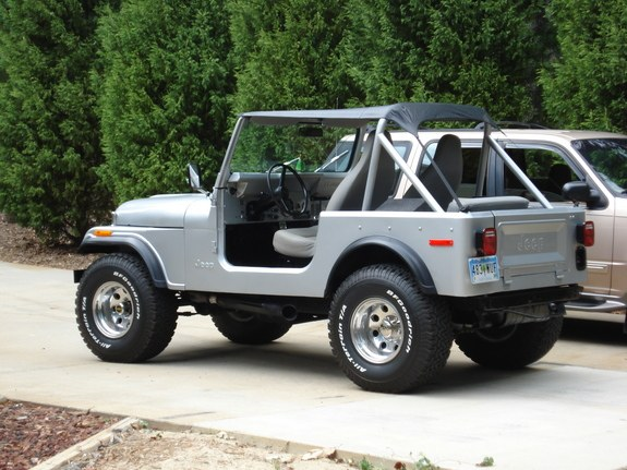 Cloverbacker36 1977 Jeep Cj7 Specs  Photos  Modification