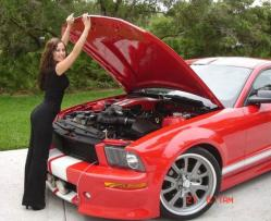 ladystangGT 2006 Ford Mustang
