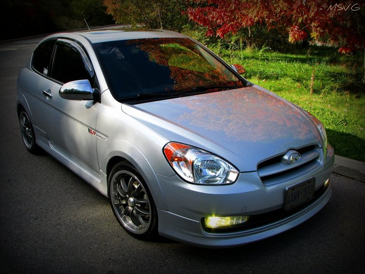 mmsvg 39 s 2007 hyundai accent in toronto on. Black Bedroom Furniture Sets. Home Design Ideas