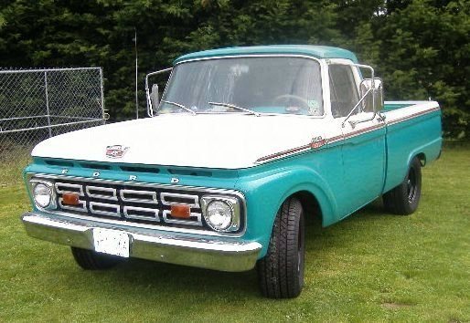 1GOODDOG 1964 Ford F150 Regular Cab