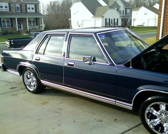 MercuryMan85 1985 Mercury Grand Marquis