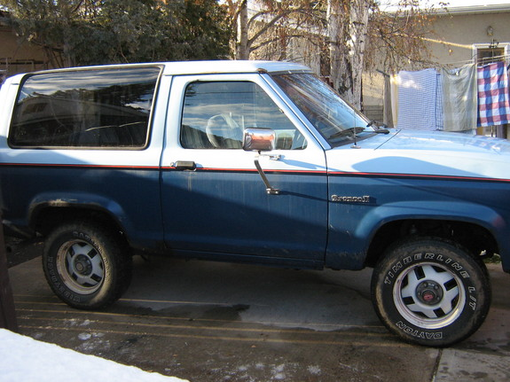 1986 ford bronco ii specifications. Black Bedroom Furniture Sets. Home Design Ideas
