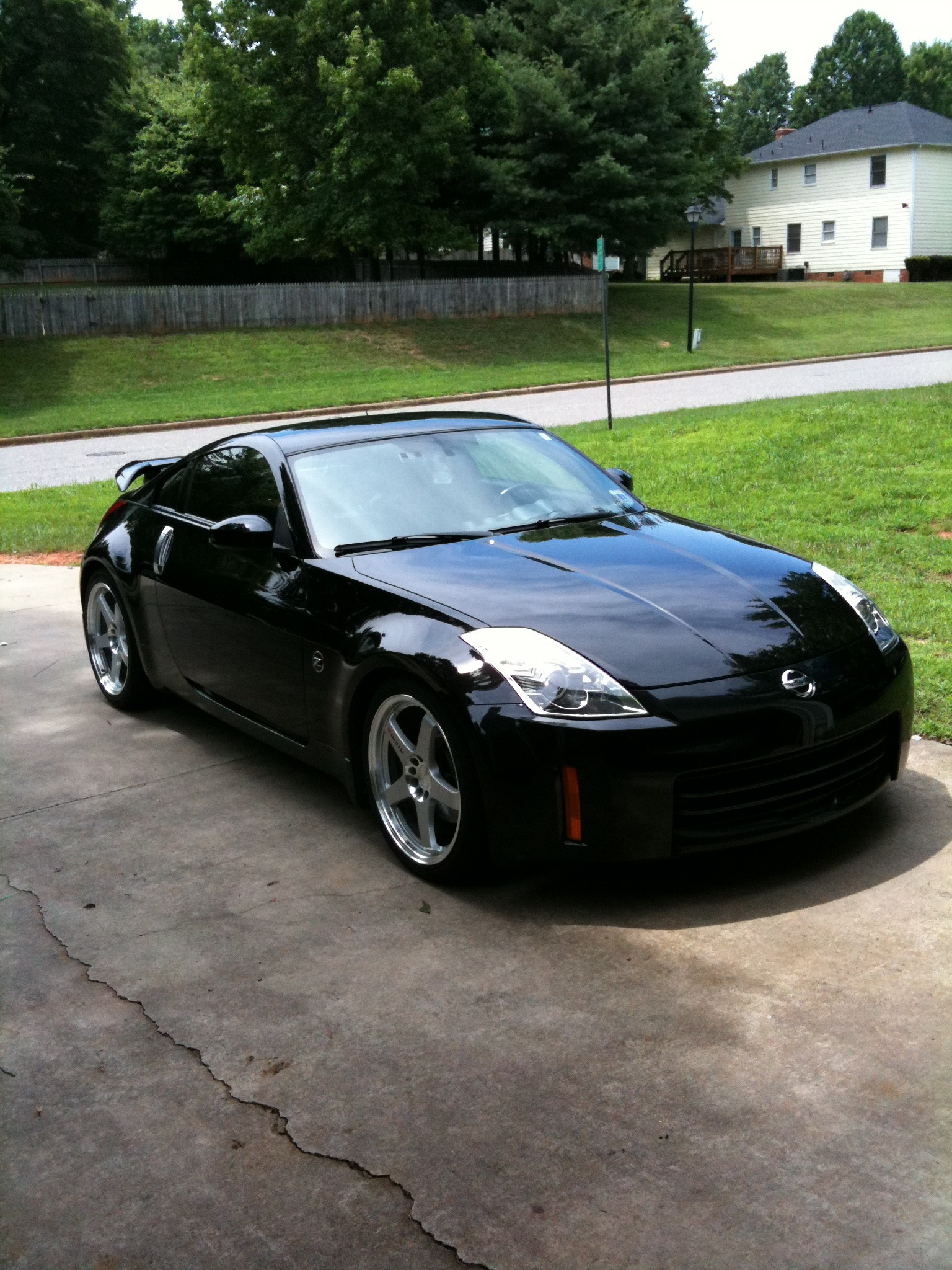 blck350z 2006 nissan 350z specs photos modification info. Black Bedroom Furniture Sets. Home Design Ideas
