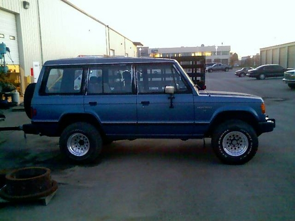 rsalm1 1989 Mitsubishi Montero Specs, Photos, Modification Info at