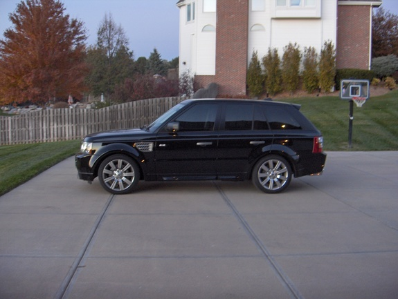 derangedrover 2008 land rover range rover sport specs photos modification info at cardomain. Black Bedroom Furniture Sets. Home Design Ideas